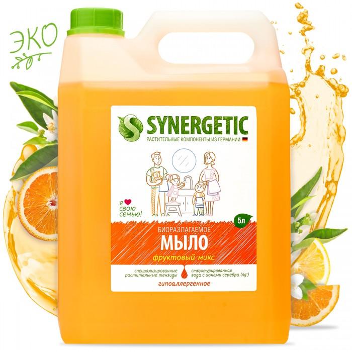 Косметика для мамы Synergetic Мыло жидкое Фруктовый микс 5 л