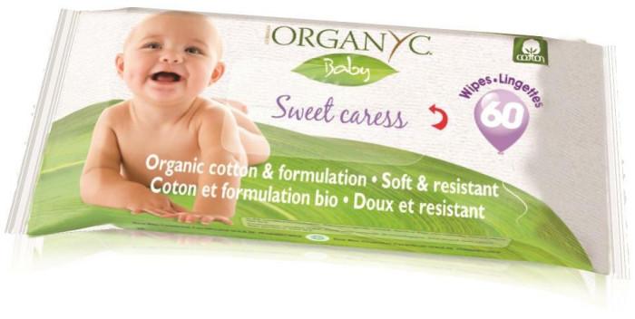 Салфетки Organyc Детские влажные салфетки 60 шт.