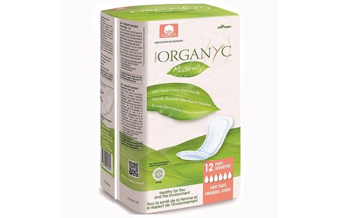 Гигиена для мамы Organyc Прокладки для рожениц для первых дней 12 шт.