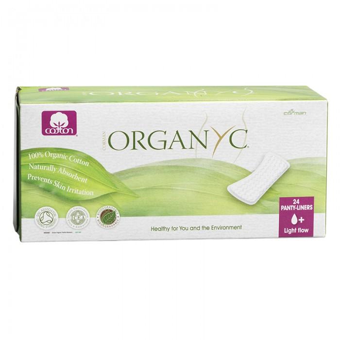 Гигиена для мамы Organyc Прокладки на каждый день 24 шт.