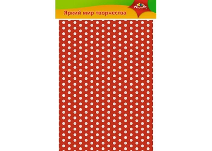 Канцелярия Апплика Цветной картон гофрированный Кружочки А4 5 листов цветов