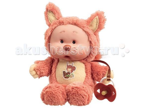 Куклы и одежда для кукол Yogurtinis Кукла мягконабивная Бельчонок Ноя куклы и одежда для кукол весна озвученная кукла саша 1 42 см