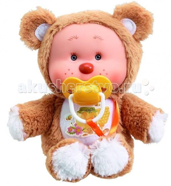 Куклы и одежда для кукол Yogurtinis Кукла мягконабивная Медвежонок Миша куклы и одежда для кукол весна озвученная кукла саша 1 42 см