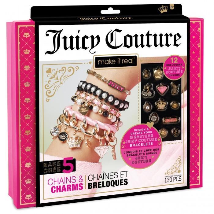 Купить Наборы для создания украшений, Juicy Couture Набор для создания бижутерии Стильные браслеты
