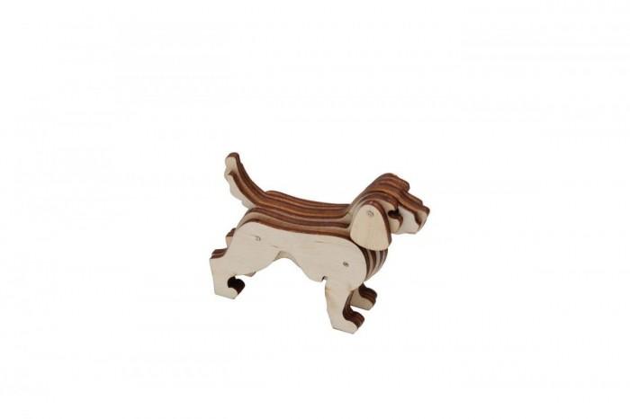 Деревянные игрушки Bradex 3д-пазл Собака