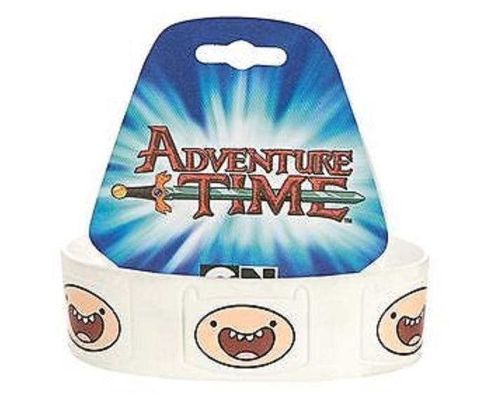 Аксессуары Adventure Time Браслет резиновый Finn бомбер printio adventure time