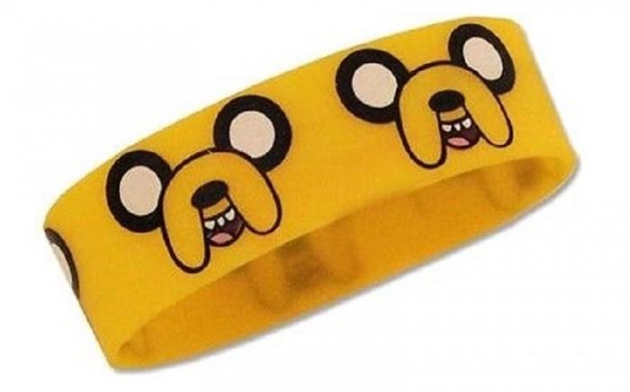 Аксессуары Adventure Time Браслет резиновый Jake