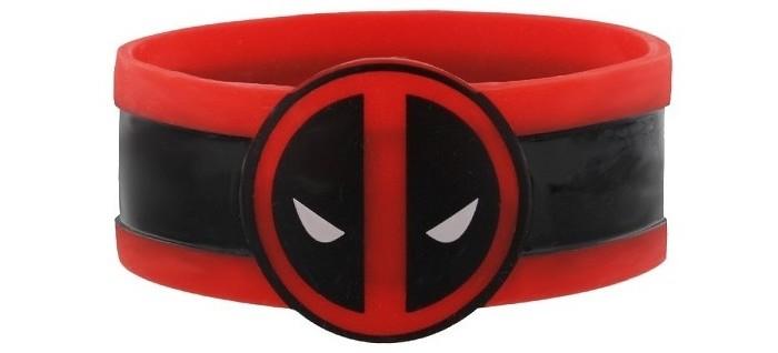 Аксессуары Марвел (Marvel) Браслет резиновый Deadpool