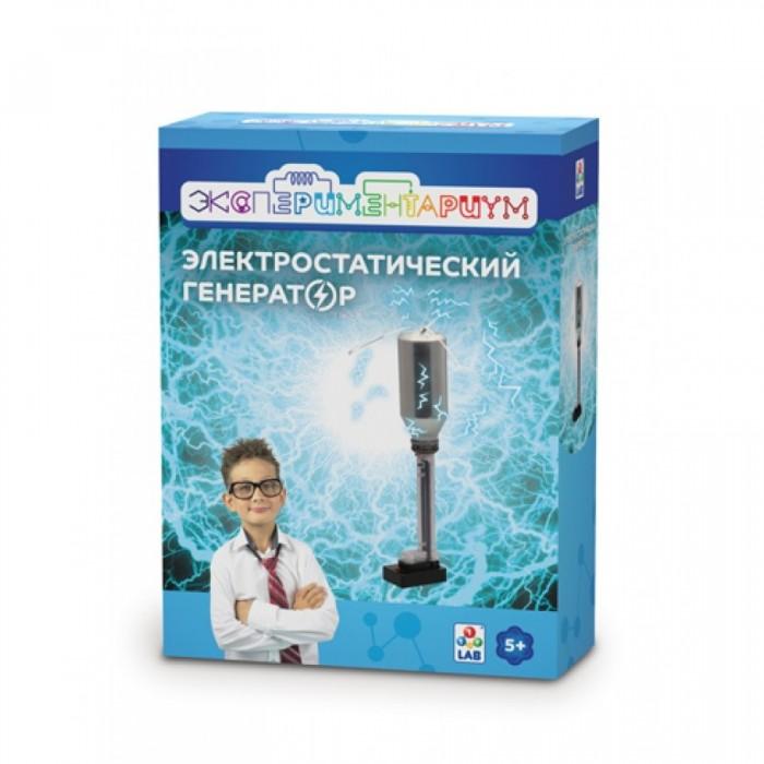 Купить Наборы для опытов и экспериментов, Экспериментариум Электростатический генератор
