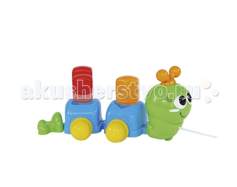 Каталки-игрушки Simba Гусеничка сортер 26 см simba сортер грибок