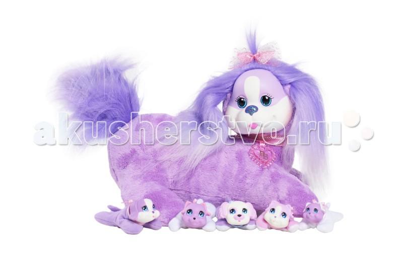 Мягкие игрушки Just play Собачка Кэнди и ее щенки
