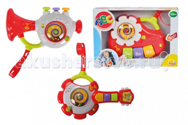 Музыкальные игрушки Simba ABC (свет, звук) музыкальный инструмент детский simba музыкальная гитара свет звук 43 5 см