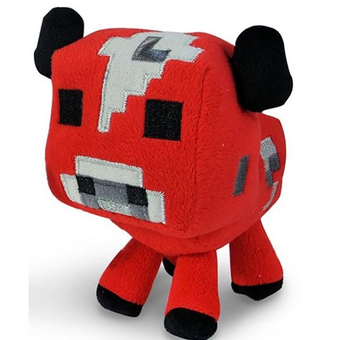 Мягкие игрушки Minecraft Baby cow Детеныш грибной коровы 18 см мягкая игрушка jinx minecraft детеныш волка 20 см