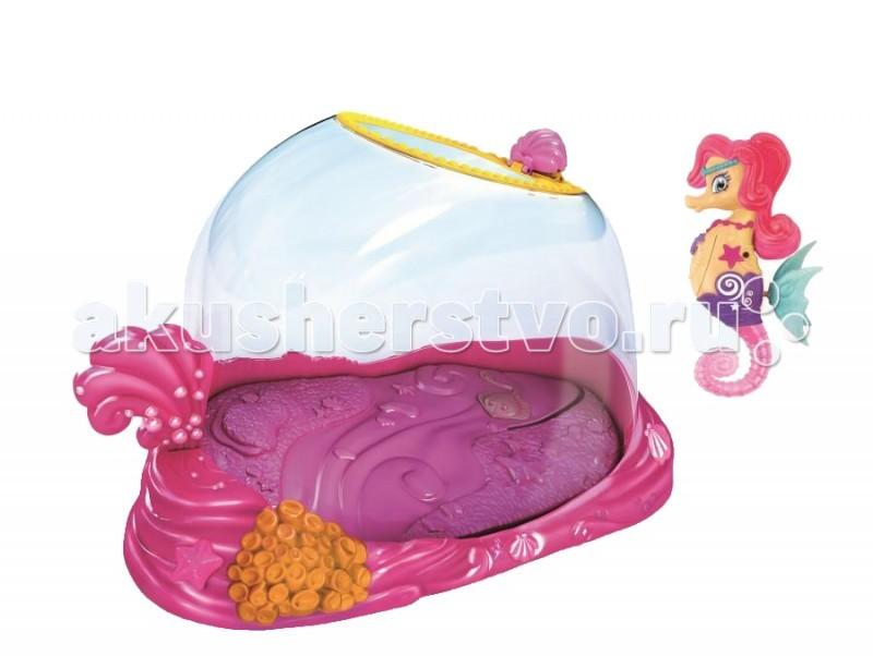Интерактивные игрушки Zuru Набор Морской Конек Лола с Аквариумом интерактивная игрушка zuru клоун с аквариумом 2502 от 3 лет жёлтый 2502