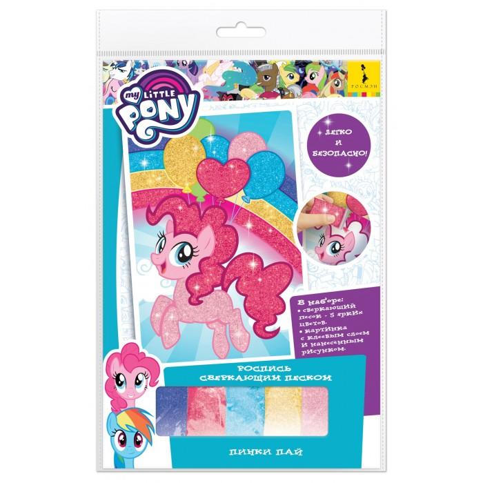 Картинка для Наборы для творчества Май Литл Пони (My Little Pony) Роспись сверкающим песком Пинки Пай