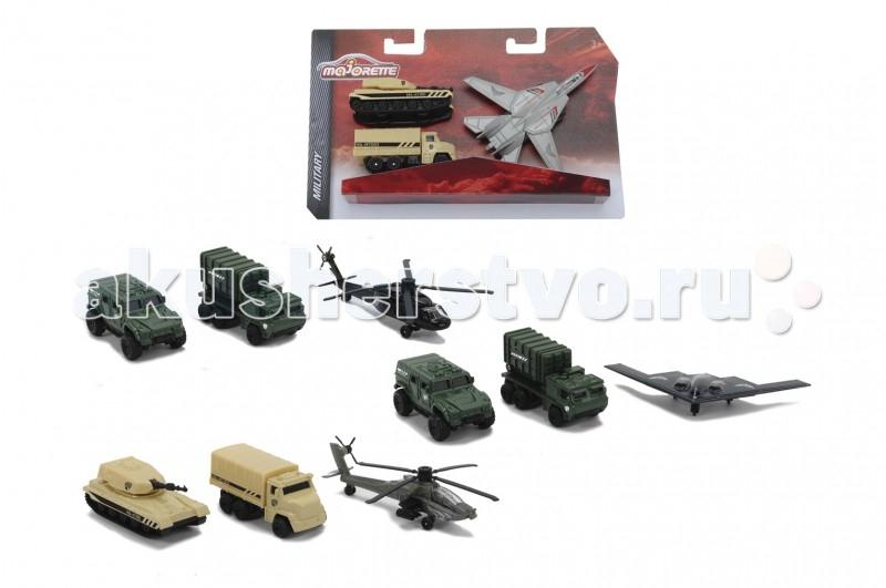 Машины Majorette Набор военной спец. техники