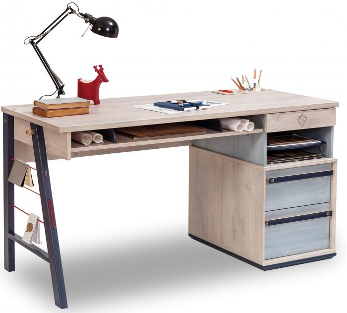 Купить Детские столы и стулья, Cilek Письменный стол с ящиками Trio