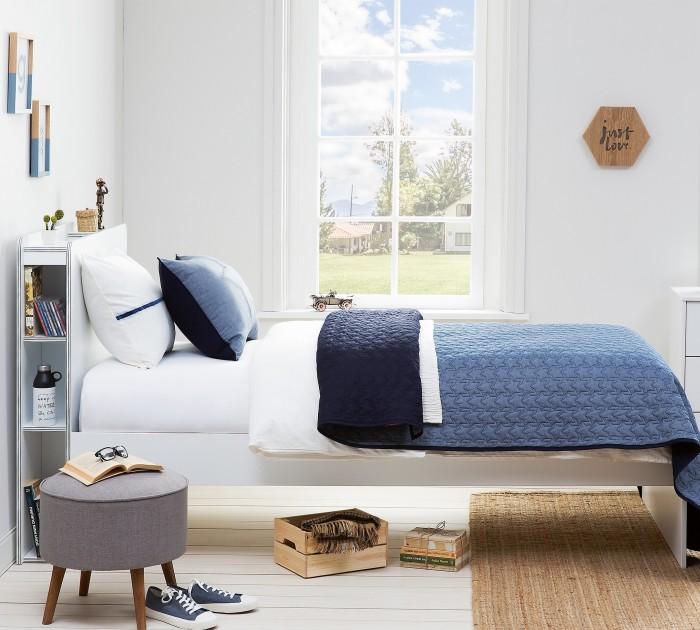 Купить Комплекты в кроватку, Комплект в кроватку Cilek Покрывало и 2 декоративные подушки Denim 145x230 см
