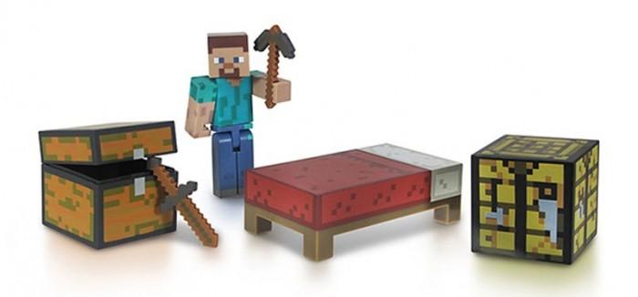 Игровые наборы Minecraft Набор фигурок Survival pack 8 см