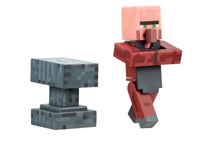фигурка minecraft ender dragon размах крыльев 52 см Игровые наборы Minecraft Фигурка Blacksmith Кузнец пластик 8 см