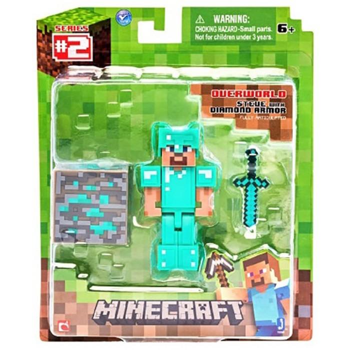 фигурка minecraft ender dragon размах крыльев 52 см Игровые наборы Minecraft Фигурка Diamond Steve 8 см