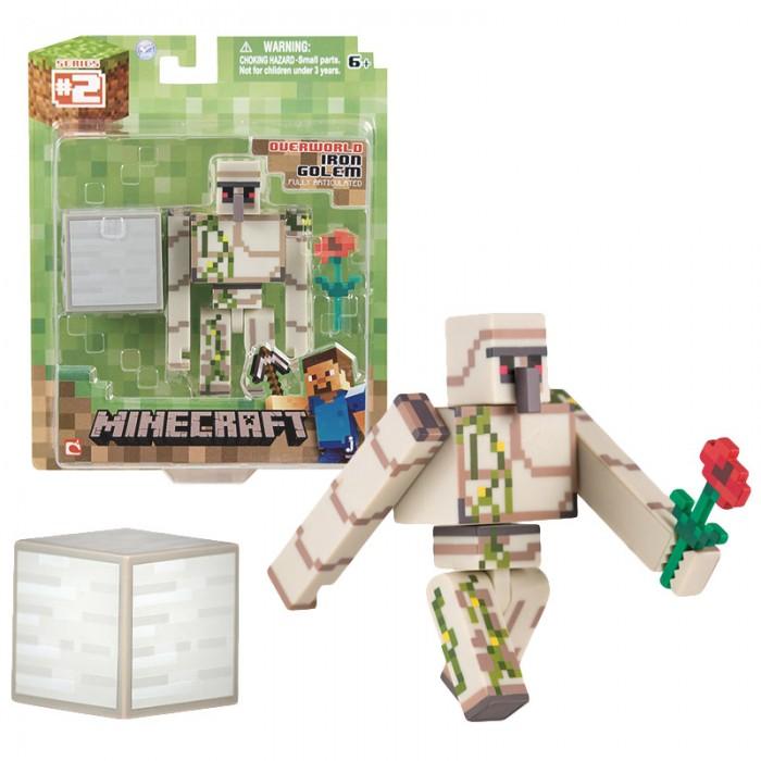 цена на Игровые наборы Minecraft Фигурка Железный голем с аксессуарами 8 см