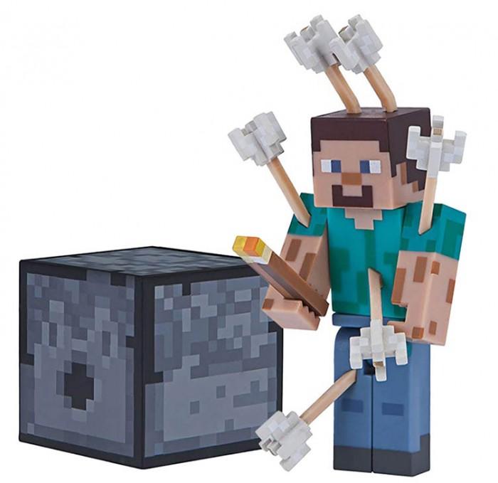 фигурка minecraft ender dragon размах крыльев 52 см Игровые наборы Minecraft Фигурка Steve with Arrows 8 см