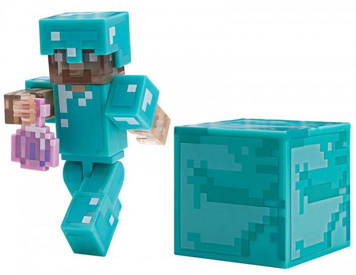 фигурка minecraft ender dragon размах крыльев 52 см Игровые наборы Minecraft Фигурка Стива с зельем невидимости 8 см