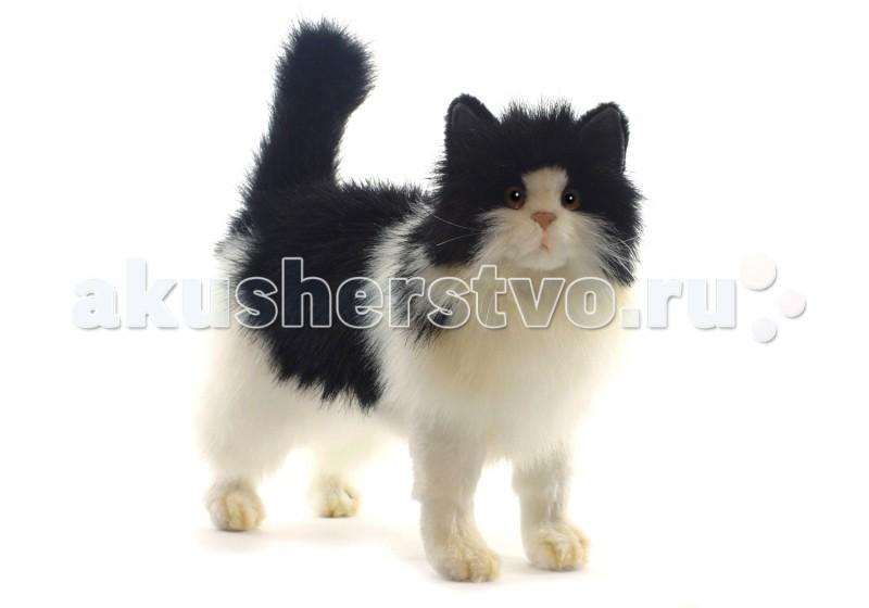 Мягкая игрушка Hansa Кошка черно-белая 40 см