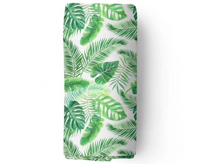 Пеленки Adam Stork муслиновая Watercolor Tropical 120x120 см