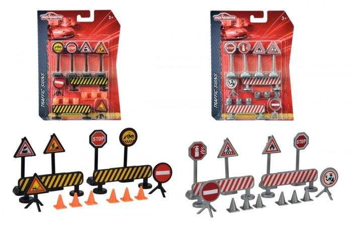 Игровые наборы Majorette Набор дорожных знаков