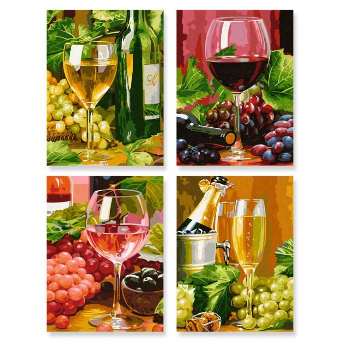 Картины по номерам Schipper Картина по номерам 4 шт. Вино 18х24 см раскраски schipper спящая красавица 18х24 см