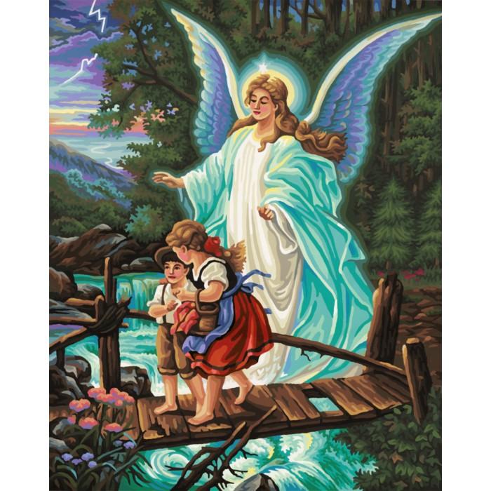 Картины по номерам Schipper Картина по номерам Ангел 40х50 см molly мозаичная картина зеленая долина 40х50 см