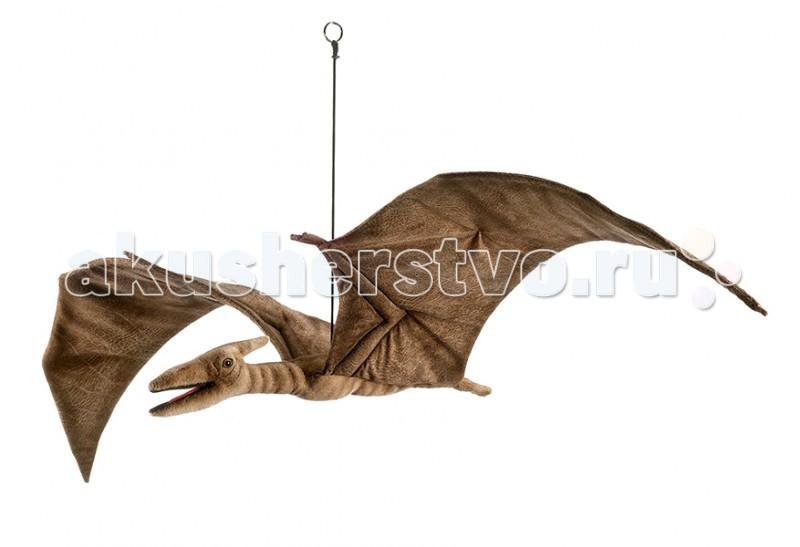 Мягкая игрушка Hansa Птеродактиль 48 смПтеродактиль 48 смМягкая игрушка Hansa Птеродактиль 48 см является результатом ручной работы филиппинских дизайнеров. Она имеет детальную проработку, благодаря чему игрушка в точности повторяет внешний вид настоящего животного.   У игрушки применен гибкий каркас, он дает возможность придавать ей необходимое положение - поворачивать голову, сгибать лапы.   Играя с такой натуралистичной игрушкой, у ребенка будет формироваться правильное представление об окружающей природе. Даже когда ребенок вырастет, игрушка может оставаться частью интерьера, украшением помещения.  Забавная мягкая игрушка пошита и набита вручную. Она выполнена из искусственного меха, прошедшего специальную обработку для придания игрушке более реалистичного вида.<br>