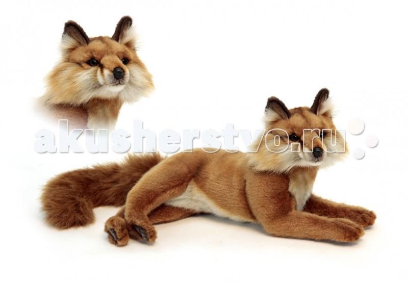 Купить Мягкие игрушки, Мягкая игрушка Hansa Красная лиса лежащая
