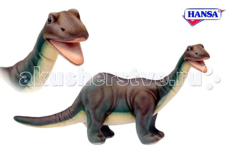 Купить Мягкие игрушки, Мягкая игрушка Hansa Бронтозавр 45 см