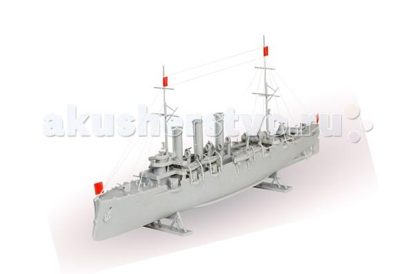 Конструкторы Огонек Сборная модель Крейсер Аврора (147 деталей)