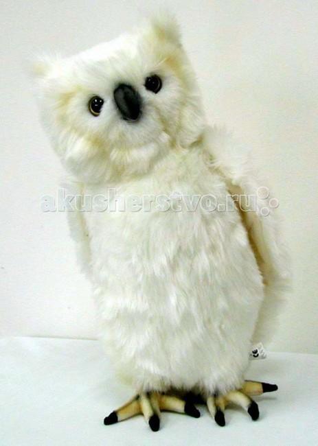 Купить Мягкие игрушки, Мягкая игрушка Hansa Сова белая 30 см
