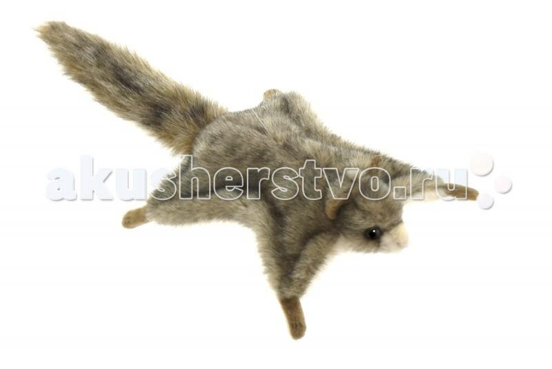 Мягкие игрушки Hansa Белка летяга 21 см мягкая игрушка белка hansa белка летяга искусственный мех серый 21 см 4116