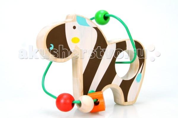 Деревянные игрушки Lucy & Leo Лабиринт Зебра LL127 набор игровой lucy