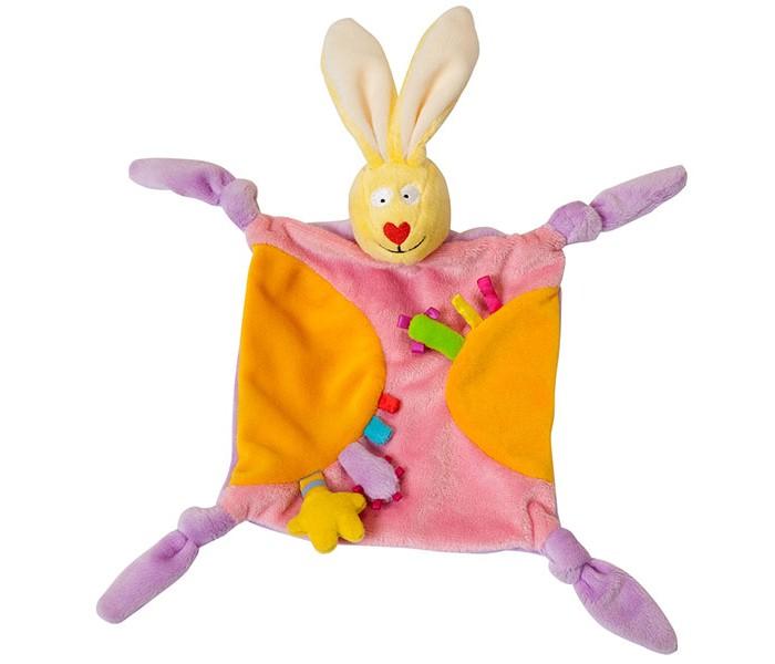 Комфортер Taf Toys Игрушка платочек-прорезыватель Кролик