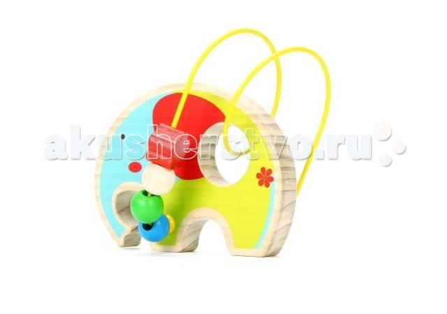 Деревянная игрушка Lucy & Leo Лабиринт Слон LL131
