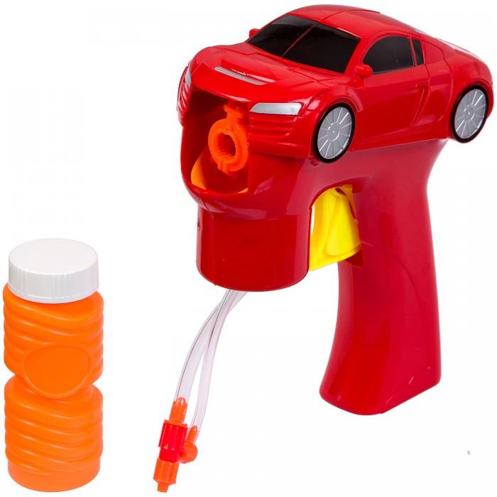 Bondibon Пистолет Машина с мыльными пузырями 50 мл