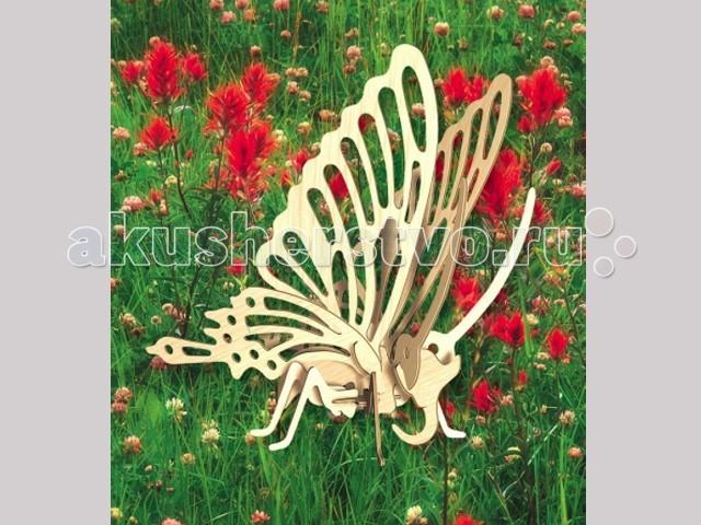 Конструкторы Мир деревянных игрушек (МДИ) Сборная модель Бабочка