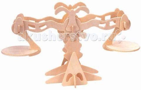 Конструкторы Мир деревянных игрушек (МДИ) Сборная модель Весы конструкторы eastcolight сборная модель science time скелет стегозавра
