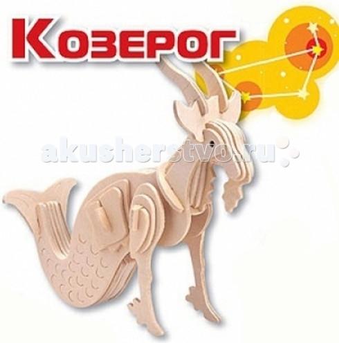 Конструкторы Мир деревянных игрушек (МДИ) Сборная модель Козерог