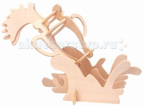 Конструкторы Мир деревянных игрушек (МДИ) Сборная модель Водолей конструкторы eastcolight сборная модель science time скелет стегозавра
