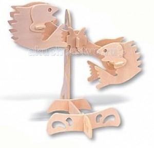 Конструкторы Мир деревянных игрушек (МДИ) Сборная модель Рыбы конструкторы eastcolight сборная модель science time скелет стегозавра