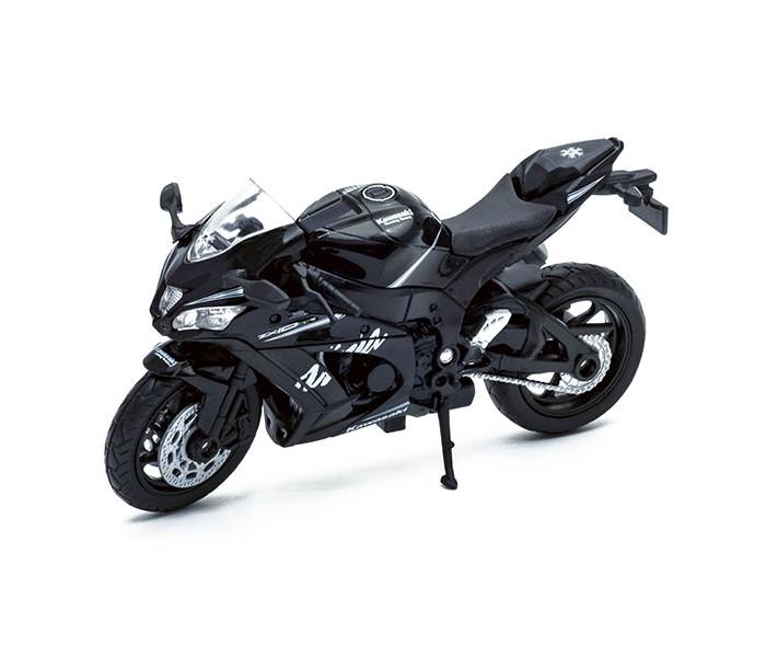 Машины Welly Модель мотоцикла Kawasaki Ninja ZX-10RR welly 12167p велли модель мотоцикла 1 18 motorcycle kawasaki 2001 ninja zx 12r