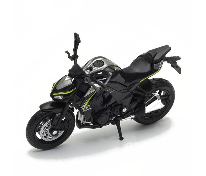 Машины Welly Модель мотоцикла Kawasaki Ninja 1000R welly 12167p велли модель мотоцикла 1 18 motorcycle kawasaki 2001 ninja zx 12r